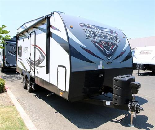 New 2016 Forest River XLR NITRO 21FQSL Travel Trailer Toyhauler For Sale