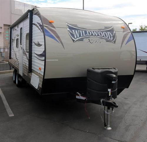New 2016 Forest River Wildwood 231BHXL Travel Trailer For Sale