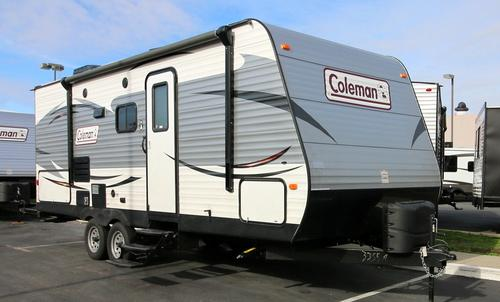 New 2016 Coleman Coleman CTS225QBWE Travel Trailer For Sale