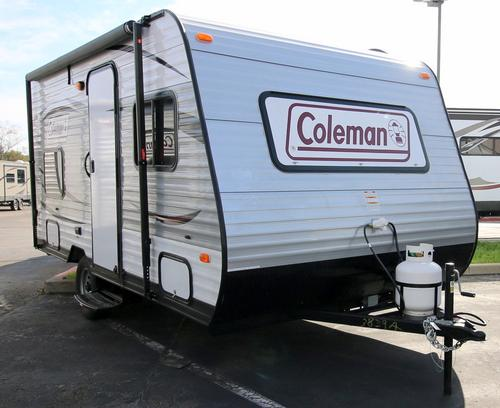 New 2016 Coleman Coleman CTS15BHWE Travel Trailer For Sale