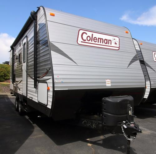 New 2017 Coleman Coleman CTS225QBWE Travel Trailer For Sale