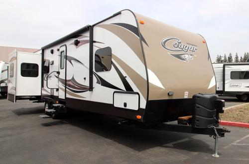 Used 2016 Keystone Cougar 32RESWE Travel Trailer For Sale