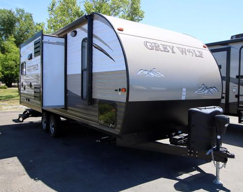 Used 2015 Forest River Grey Wolf 24RB Travel Trailer For Sale