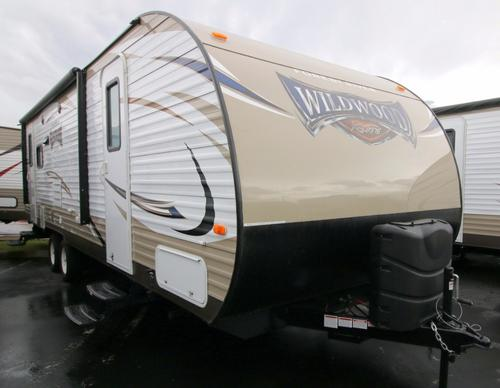 New 2017 Forest River Wildwood 254RLXL Travel Trailer For Sale