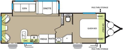New 2016 Forest River Wildwood 254RLXL Travel Trailer For Sale