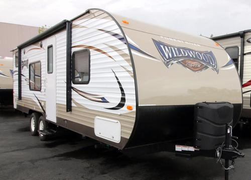 New 2017 Forest River Wildwood 261BHXL Travel Trailer For Sale