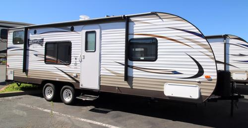 New 2016 Forest River Wildwood 261BHXL Travel Trailer For Sale