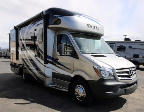 New 2016 THOR MOTOR COACH Four Winds Siesta 24SR Class C For Sale