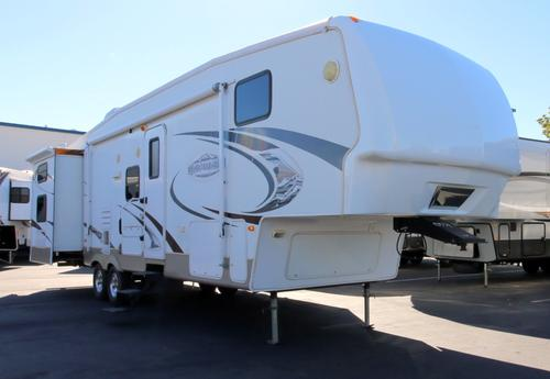 Used 2009 Keystone Montana 345DBQ Fifth Wheel For Sale