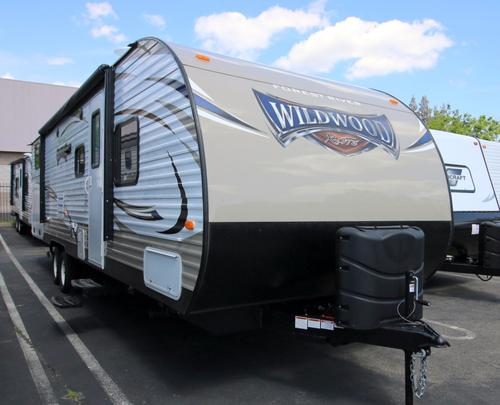 New 2016 Forest River Wildwood 282QBXL Travel Trailer For Sale