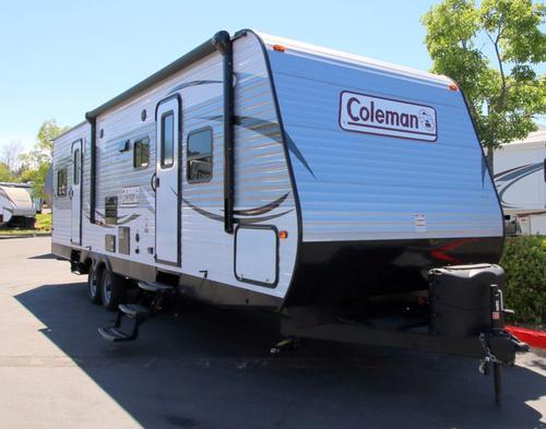 New 2016 Coleman Coleman CTS300TQ Travel Trailer Toyhauler For Sale