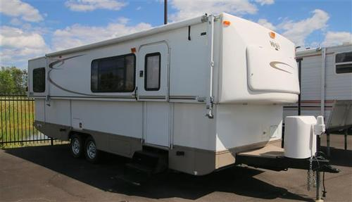 Used 2007 Hi Lo Hi Lo 2807 Travel Trailer For Sale