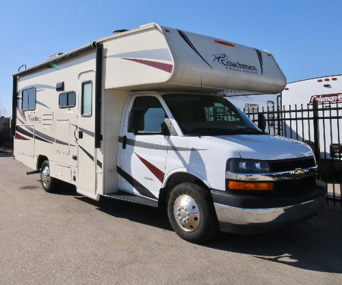 Exterior : 2018-COACHMEN-21 QB CHEVY 4500