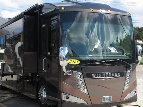 2013 Winnebago Tour