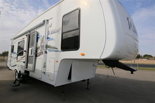Used 2008 Forest River Wildcat 28RKBS FW Fifth Wheel For Sale