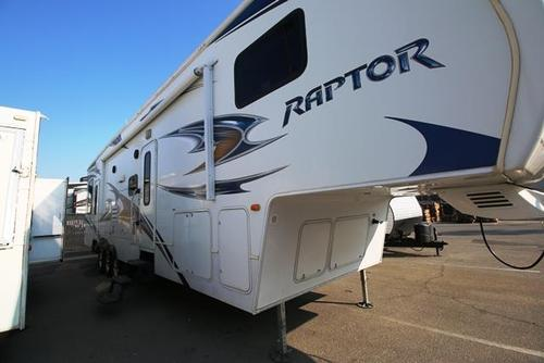 Used 2010 Keystone Raptor 361LEV Fifth Wheel Toyhauler For Sale