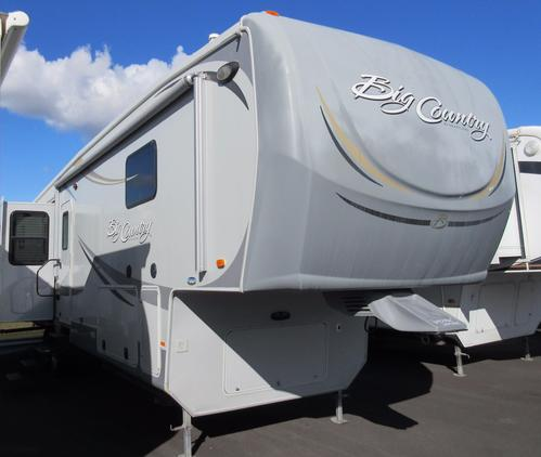 Used 2011 Heartland Big Country 3595RE Fifth Wheel For Sale