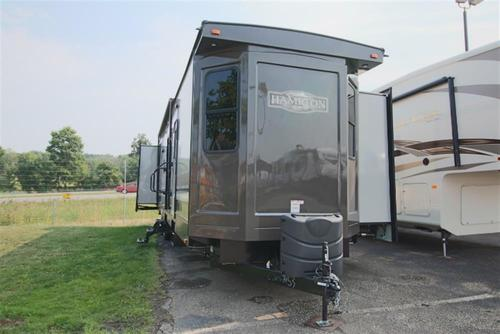 New 2016 Crossroads Hampton 380QB Travel Trailer For Sale