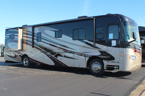 Exterior : 2011-FOREST RIVER-385DS
