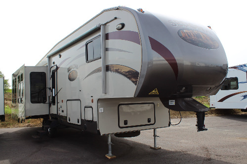 Exterior : 2014-YELLOWSTONE RV-34FRSI
