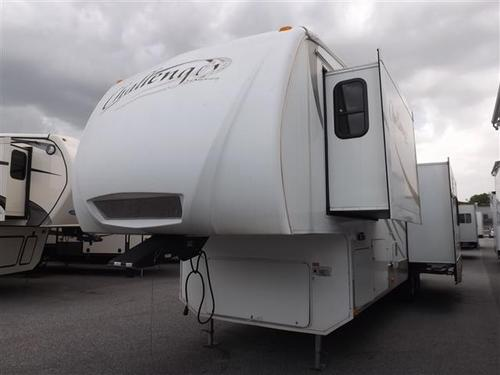 Used 2008 Keystone Challenger 32SAT Fifth Wheel For Sale