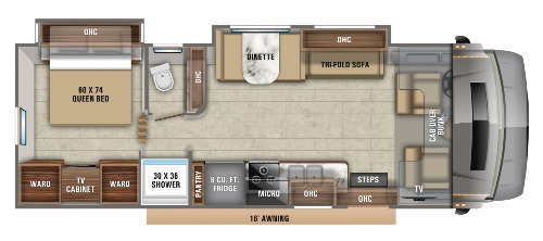 Floor Plan : 2020-JAYCO-29MVP