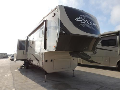 Used 2012 Heartland Big Country 3650 Fifth Wheel For Sale