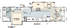 Floor Plan : 2005-MONACO-36DBD