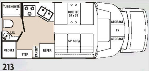 Floor Plan : 2004-R-VISION-213 (CHEVROLET)