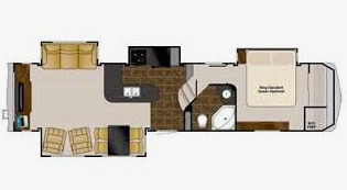 Floor Plan : 2011-HEARTLAND-3595RE