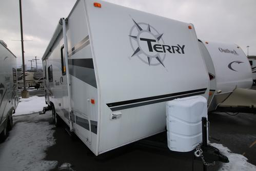 Used 2006 Fleetwood Terry 250RKS Travel Trailer For Sale