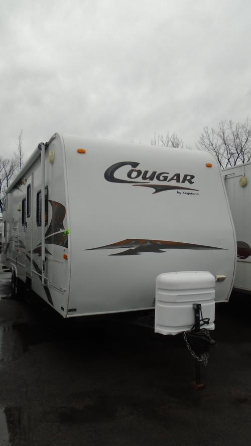 Used 2007 Keystone Cougar 301BHS Travel Trailer For Sale