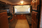 Living Room : 2008-ROCKWOOD BY FOREST RIVER-232 - TOYHAULER