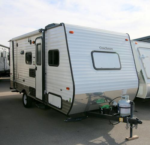 Used 2015 Forest River Clipper 17BH Travel Trailer For Sale