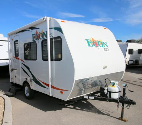 Used 2014 Pacific Coachworks ECON E12RB Travel Trailer For Sale