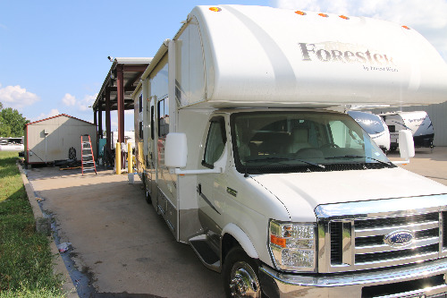 Exterior : 2015-FOREST RIVER-3171DS