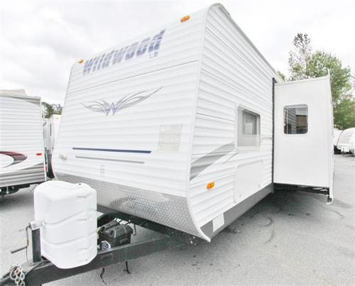 Used 2009 Forest River Wildwood 36BHSS Travel Trailer For Sale