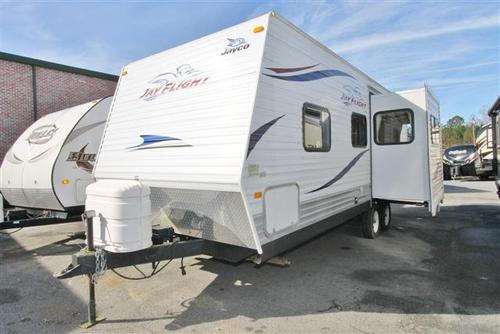 Used 2010 Jayco Jay Flight 24FBS Travel Trailer For Sale