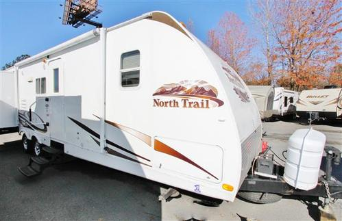 Used 2010 Heartland North Trail 32QBBS Travel Trailer For Sale