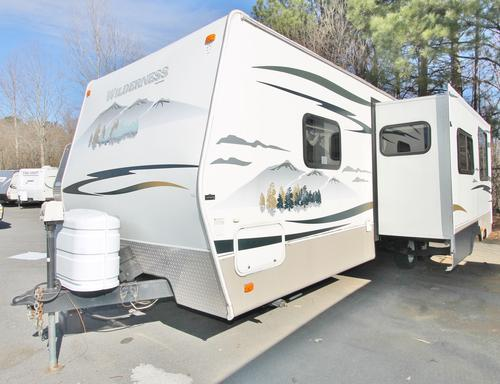 Used 2008 Fleetwood Wilderness 27RB Travel Trailer For Sale