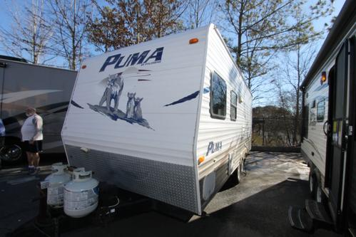 Used 2007 Palomino Puma 19FS Travel Trailer For Sale