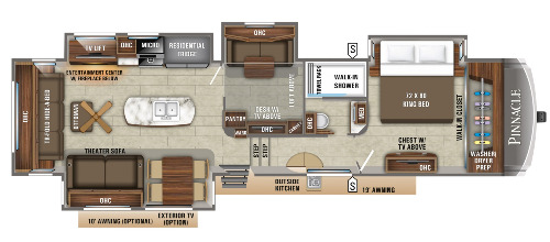 Floor Plan : 2020-JAYCO-37MDQS
