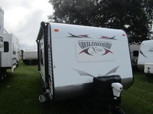 Used 2012 Forest River Wildwood 281QBXL Travel Trailer For Sale