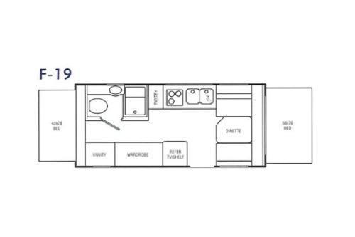 Floor Plan : 1999-AEROLITE-19TS