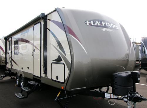 2017 Cruiser RVs Fun Finder