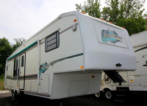 Used 1997 Carriage Emerald M-632RKS-2 Fifth Wheel For Sale