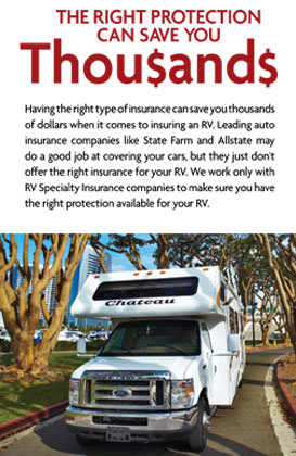 Good Sam RV Insurance Can Save You Thousands