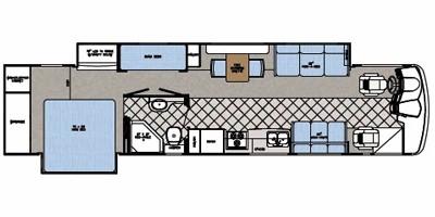Floor Plan : 2008-GULF STREAM-40UL