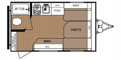 Bedroom : 2013-DUTCHMEN-1400RB