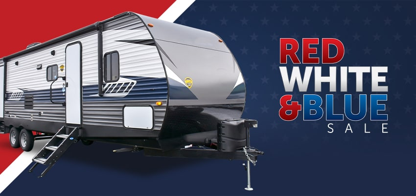 Red White Blue Sale image
